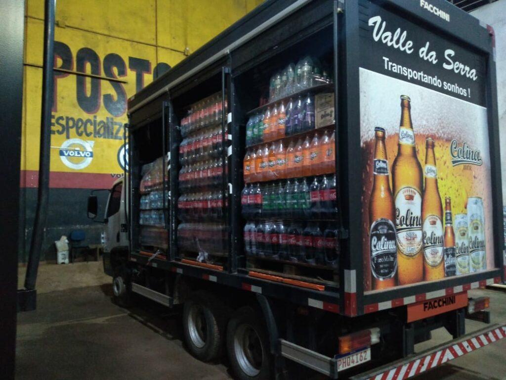 Distribuição local de bebidas